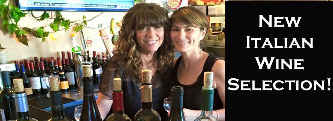 New Italian Wine Selection